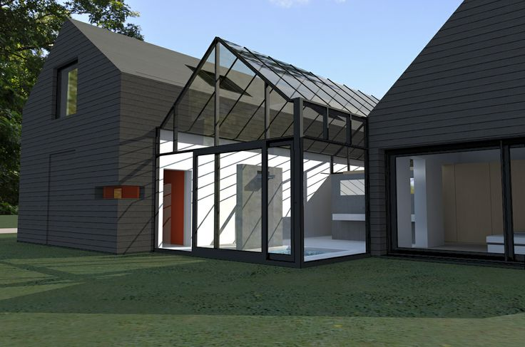 'boswoning' winning design by Vormkracht 9