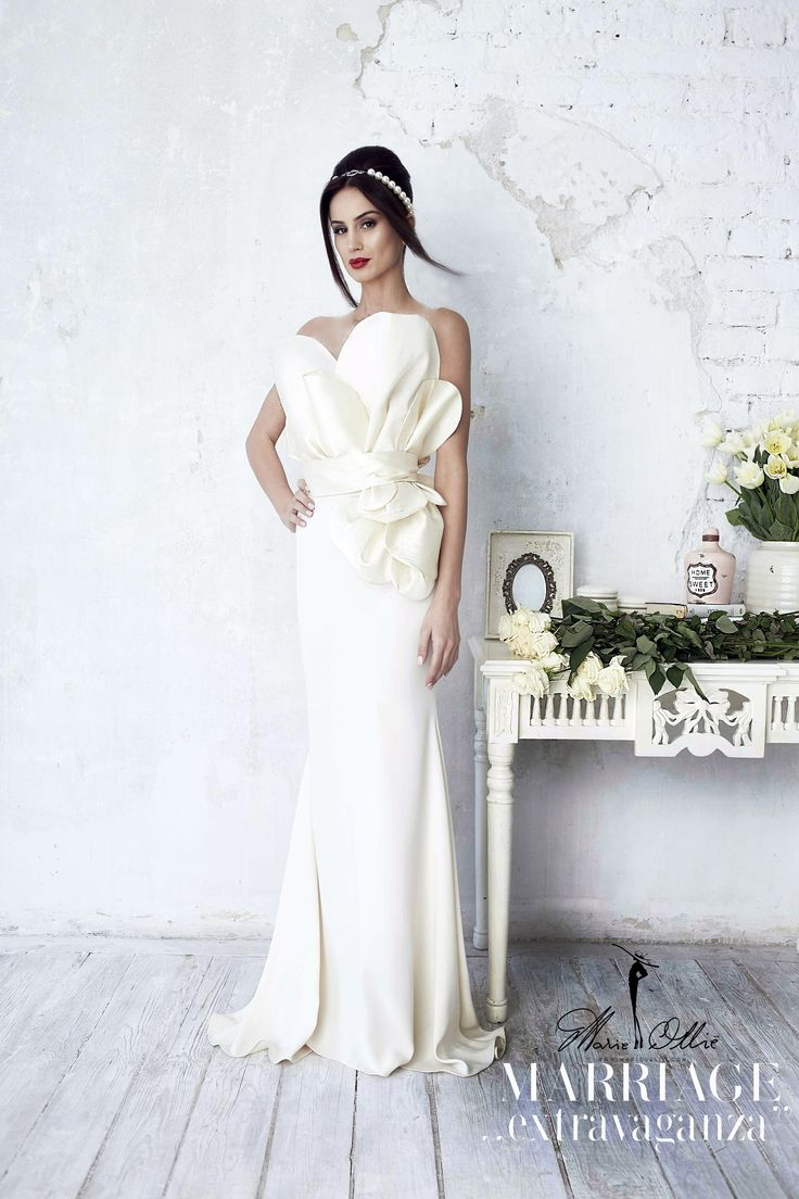 "wedding dress, Marriage ,,extravaganza"" bridal collection Marie Ollie"