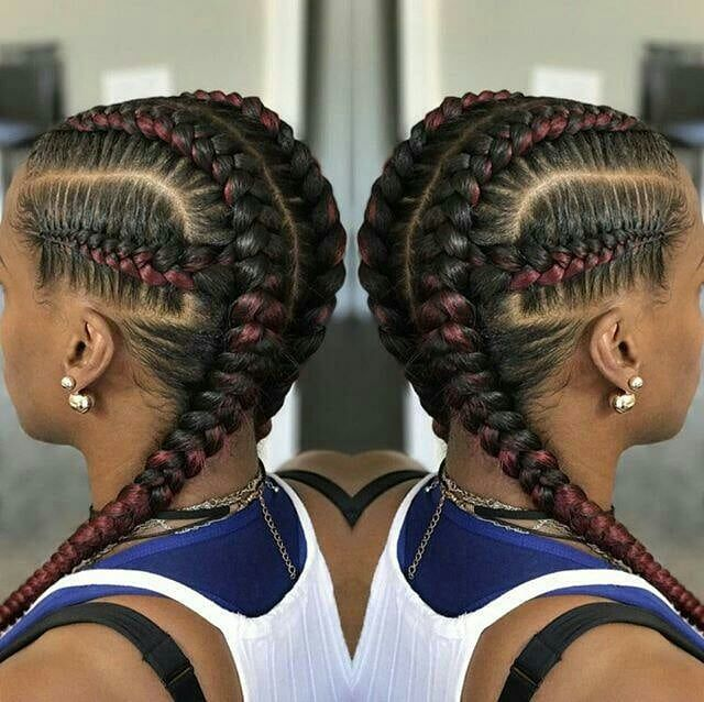 2020 Cornrow Hairstyles That Are Truly Amazing African Braids