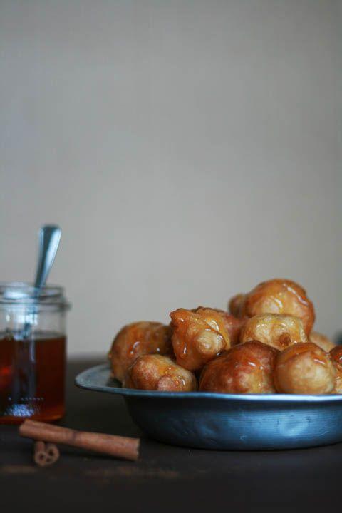 Loukoumades, Greek honey balls authentic Greek recipes