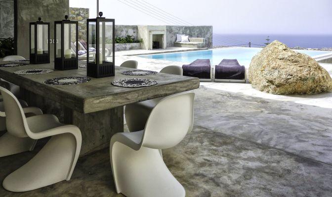 Modern Design - Vacation Rental - Villa Medusa, Mykonos, Greece