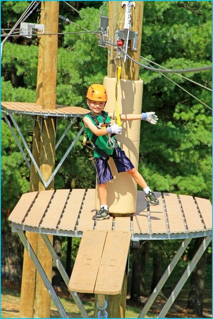 Ziplining scrapbook ideas - Backyard Zip Line Platform