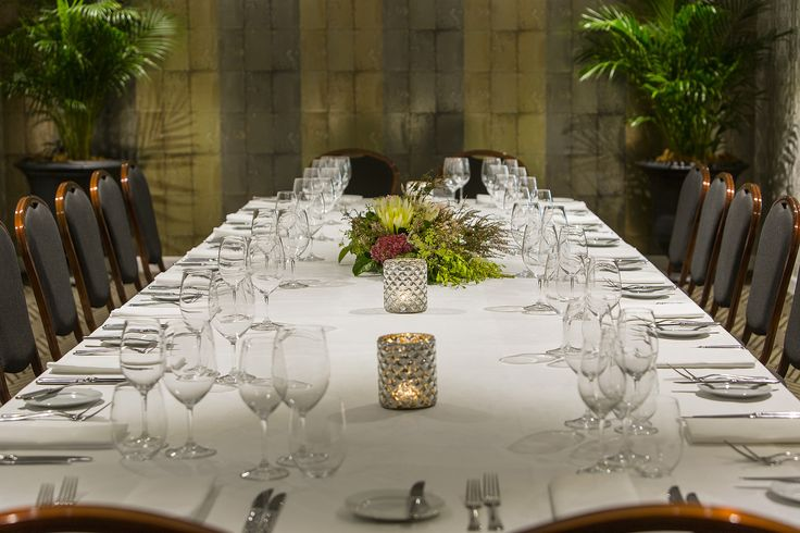 Private dining in 1920's inspired style