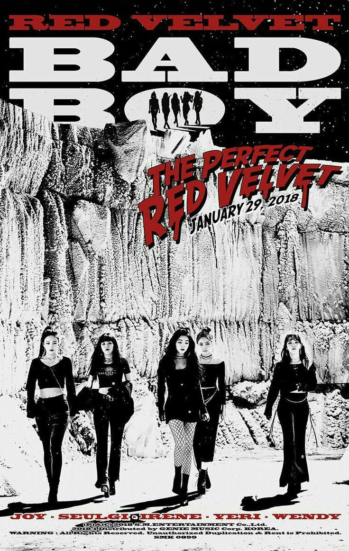 """Bad boy """"Red Velvet"""""""