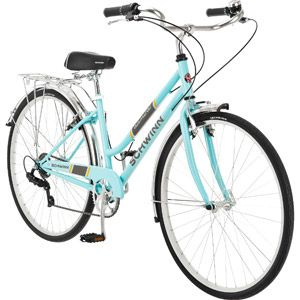 Since my bike got stolen I guess I'll need a new one...700c Schwinn Admiral Women's Hybrid Bike, Powder Blue