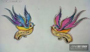 golondrinas dibujo tatuaje - Buscar con Google