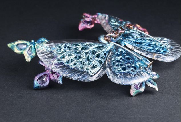 WALLACE CHAN JEWELRY | WALLACE CHAN'S Spring Azure back | WALLACE CHAN JEWELRY