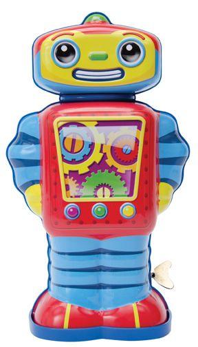 COSMO ROBOT DE CUERDA El robot del espacio ya está aquí. Explora la galaxia en busca de nuevos amigos y aventura. Ven a explorar conmigo!! Medidas aproximadas: 25 cm Materiales: Metal Edad recomendada: A partir de 3 años PVP: 30,50 € #robotjuguete #robotmetal  http://www.babycaprichos.com/cosmo-robot-de-cuerda.html