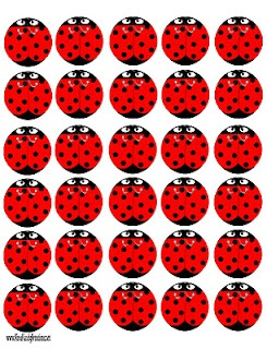 Printable Ladybugs