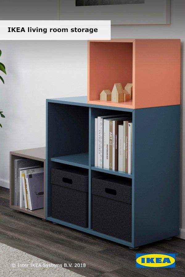 It Away And Be Ready To Play With Ikea Living Room Storage Systems Like The Eket Series Keep Your Favorite Things W