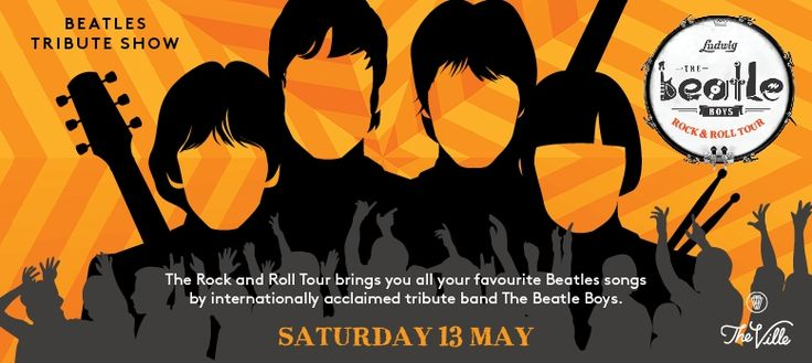 Beatles tribute show at The Ville Resort-Casino in May