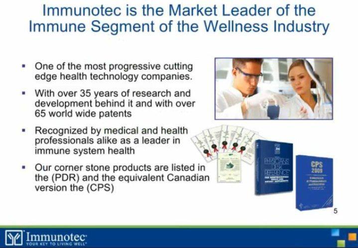 Immunocal the true facts. http://www.immunotec.com
