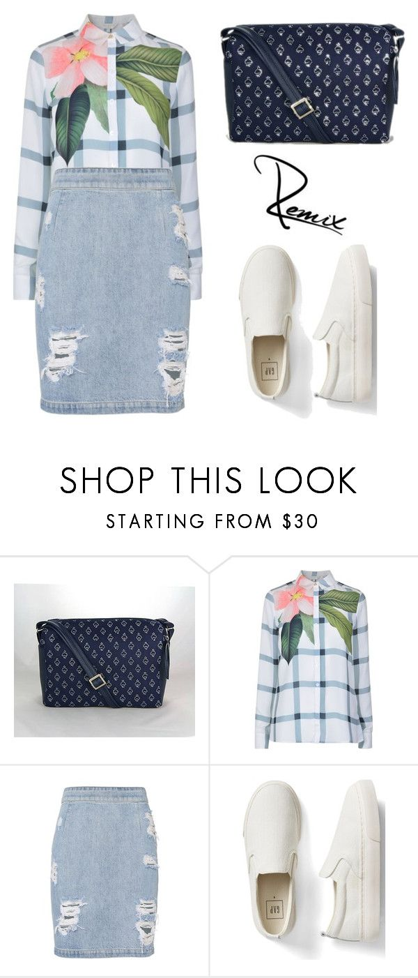 """Casual and stylish"" by aleva on Polyvore featuring Ted Baker, IRO and Gap"