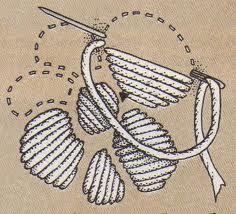 puntos de bordado a mano