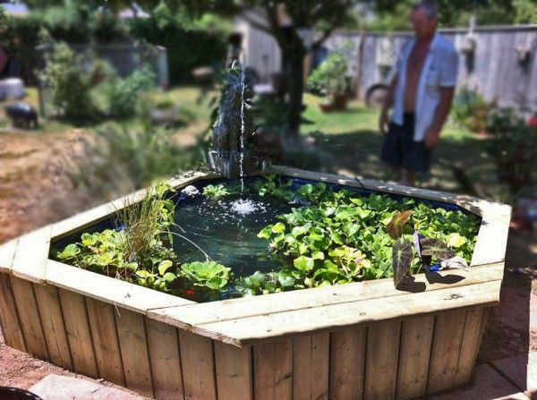17 best images about pond ideas on pinterest gardens for In ground koi pond
