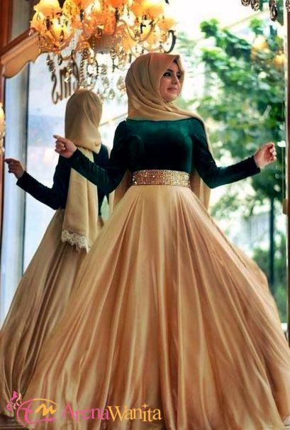 Contoh Model Baju Muslim untuk Pesta