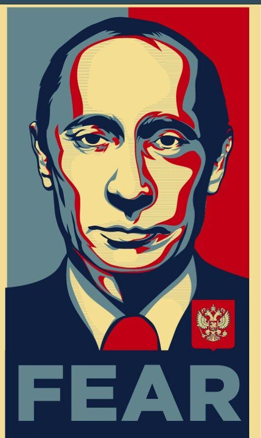 Putin Fear Poster