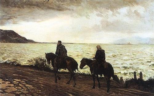 Jacek Malczewski -  Don Quixote de la Mancha  1895-1900