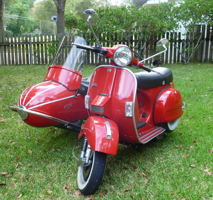 17 Best Images About Scooter's With Sidecars ! On