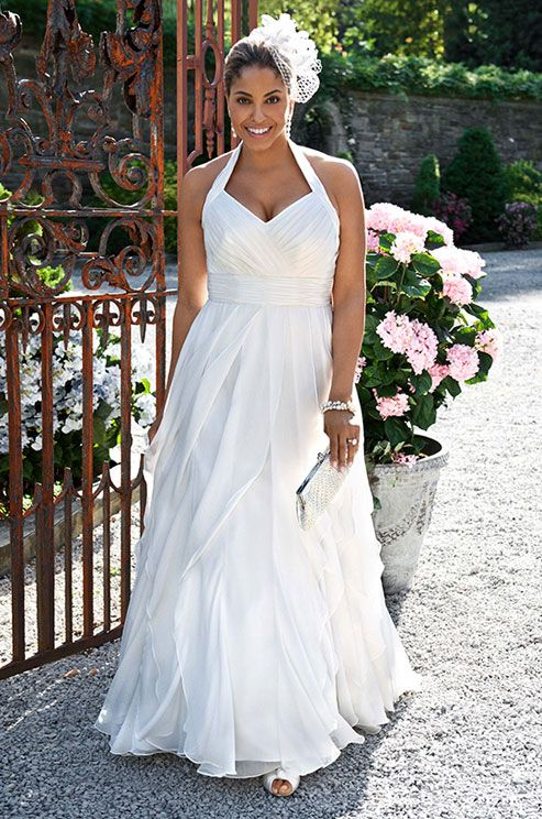Plus-Size Wedding Gowns, Wedding Dress Shopping Tips, Kleinfeld, Expert Advice || Colin Cowie Weddings