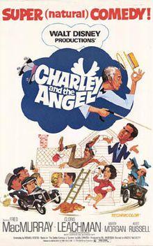Charley and the AngelMovie Posters, Walt Disney, Disney Film, Angels 1973, Childhood Memories, Kurt Russell, Cloris Leachman, Fred Macmurray, Disney Movie