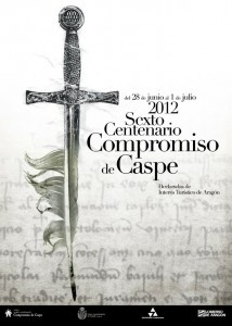 Compromiso de Caspe 2012, VI Centenario. Actos programados http://conpequesenzgz.com/2012/06/fuera-de-zaragozavi-centenario-del-compromiso-de-caspe-2012/
