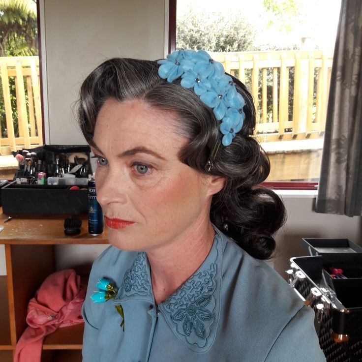 1940s Bridal Hair and Make Up