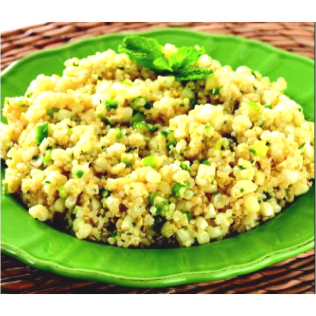 quinoa with corn scallions and mint recipes dishmaps quinoa with corn ...