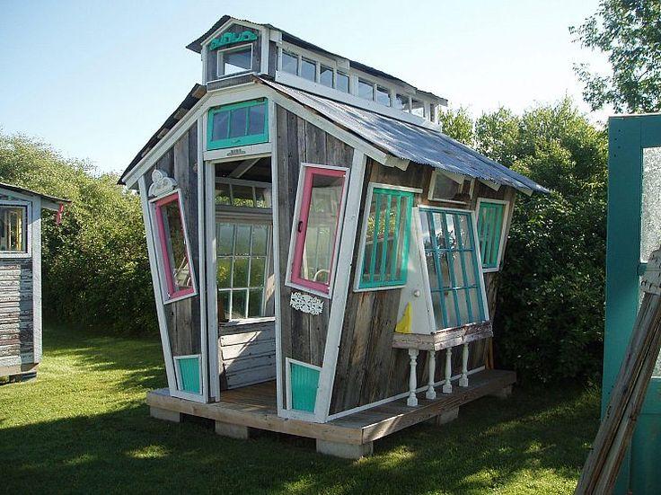 Adorable!!: Green Houses, Garden Sheds, Garden Ideas, Window, Outdoor, Greenhouses, Gardening, Gardens, Fun