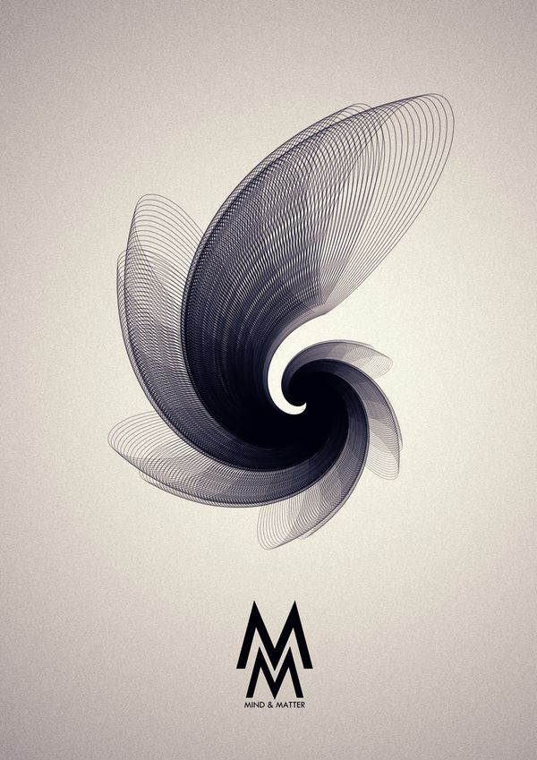Mind & Matter by Buwaneka Saranga, via Behance