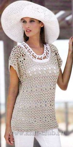 Irish crochet &: TUNIC ........ TUNIC
