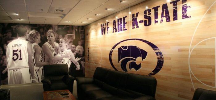 Kansas State University Womens Basketball Locker Room by Spencer Branham at Coroflot.com