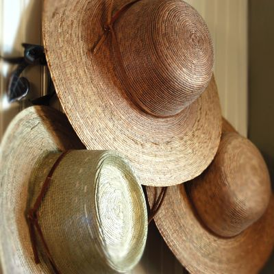 Hand Woven Ranch Palm Hat-for the Gardeners in my life...