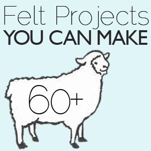 60+ Felt Projects —