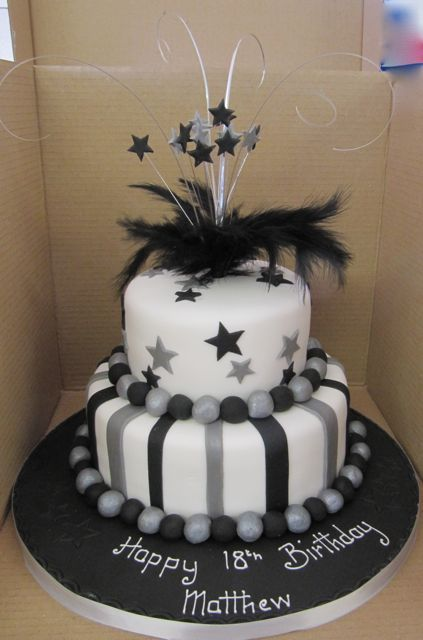 Two Tier Birthday Cakes