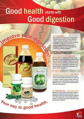 Good health starts good digestion