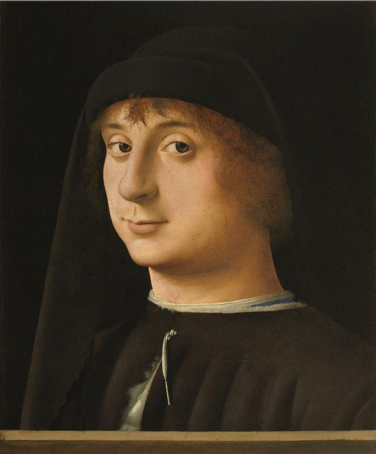 1474, Philadelphia Museum of Art - Collections Object : Portrait of a Young Gentleman, Antonello da Messina