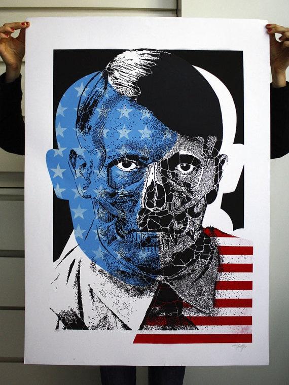 2011 | POP UBER ALLES | Portrait of Adolf Hitler
