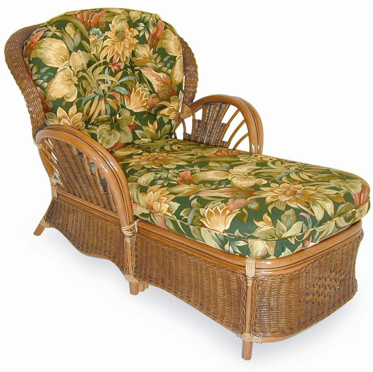 Bali Upholstered Chaise by Palm Springs Rattan  sc 1 st  Pinterest : rattan chaise lounge chair - Sectionals, Sofas & Couches