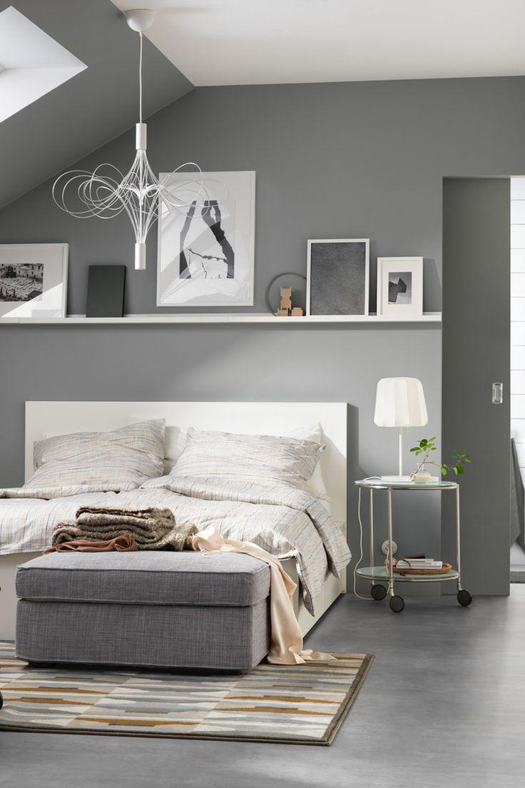 Malm Bettgestell Hoch Weiss Ikea Deutschland Ikea Zimmer Schlafzimmer Inspirationen Bettgestell