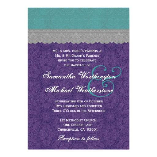 "Who says a wedding card can't be the colour inspiration for my client's room. ""Burlesque + peacock"" translation purple, teal, grey... I love my 4am ideas."