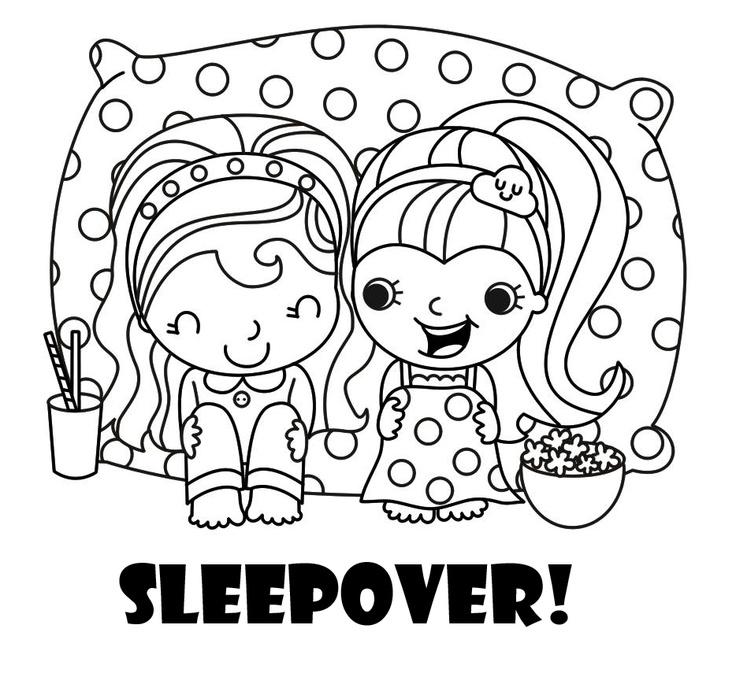 140 best Free Sleepover Invitations images on Pinterest
