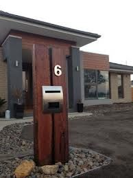 timber letterbox - Google Search