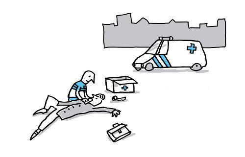 Ambulancechauffeur en -verzorger