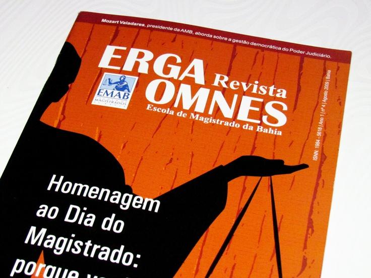 EMAB - Revista Erga Omnes 4ª Edição | Diagramação e Projeto Gráfico: Juliana Lima e Aline Cerqueira | Desenvolvido na Lima Comunicação.