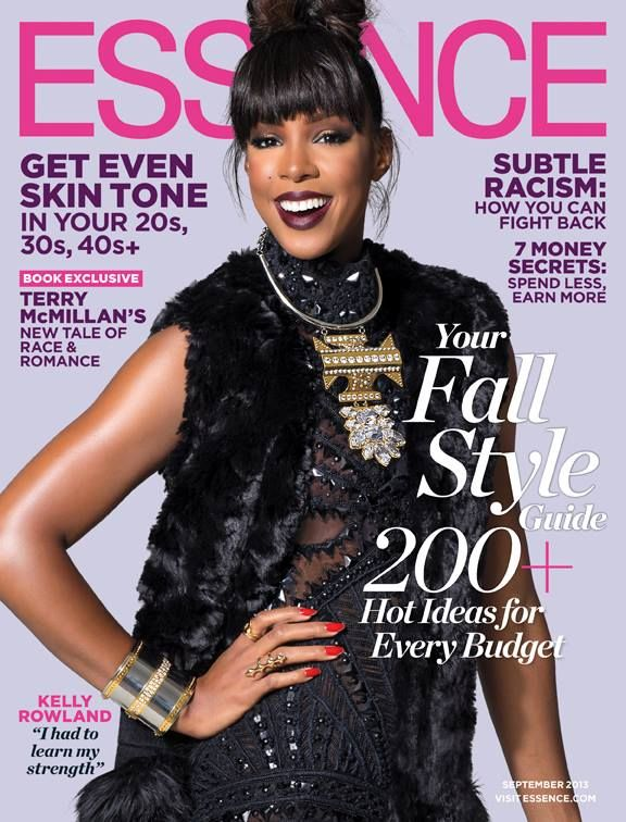 Kelly Rowland graces the September issue of ESSENCE.