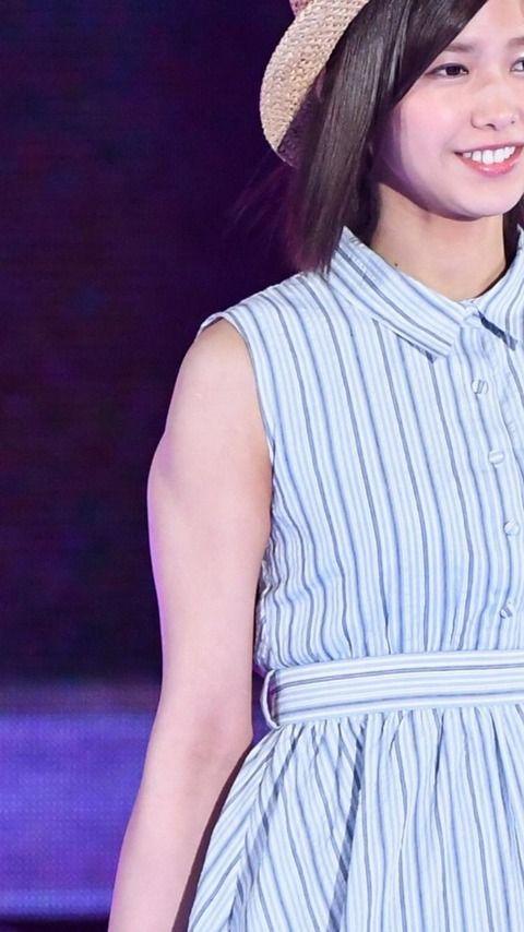 【欅坂46】渡邉理佐の筋肉が凄いことになってる件。結構マジで筋トレしてるんだな : 欅坂46まとめDX
