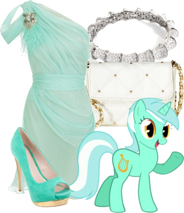Lyra Heartstrings (My Little Pony Friendship is Magic) Inspired Outfit --- awesomeee