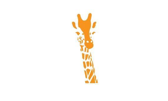 Giraffe Vinyl Decal Car Window Sticker Cute Sticker Tumbler Decal Sticker Outdoor Vinyl Decal Unique Animal Conservation Safari Decal In 2020 Vinyl Decals Car Window Stickers Window Stickers