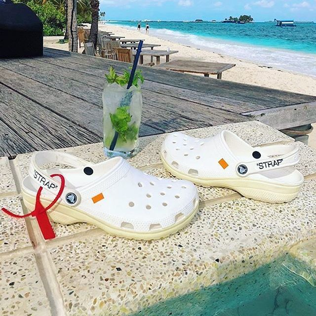 NEW COLLAB CROCS X OFF WHITE NEW COLLAB